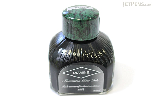 Diamine Jade Green Ink - 80 ml Bottle - DIAMINE INK 7029