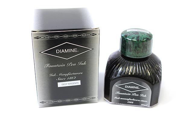 Diamine Fountain Pen Ink - 80 ml - Deep Magenta - DIAMINE INK 7030