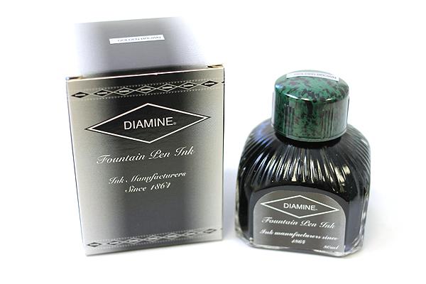 Diamine Fountain Pen Ink - 80 ml - Golden Brown - DIAMINE INK 7031