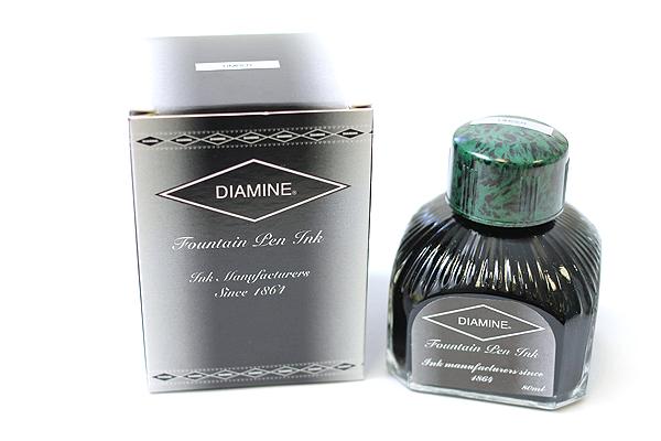 Diamine Fountain Pen Ink - 80 ml - Umber (Green) - DIAMINE INK 7039
