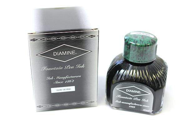Diamine Fountain Pen Ink - 80 ml - Raw Sienna - DIAMINE INK 7040