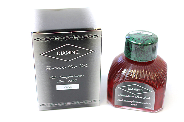 Diamine Fountain Pen Ink - 80 ml - Coral - DIAMINE INK 7041