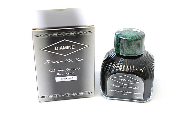 Diamine Fountain Pen Ink - 80 ml - China Blue - DIAMINE INK 7045