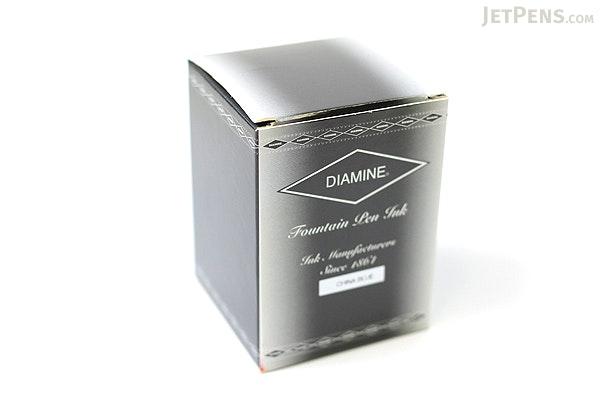 Diamine China Blue Ink - 80 ml Bottle - DIAMINE INK 7045