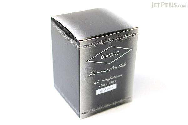 Diamine Kelly Green Ink - 80 ml Bottle - DIAMINE INK 7048