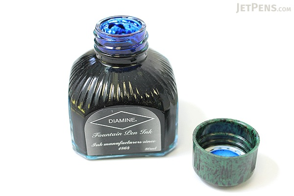 Diamine Majestic Blue Ink - 80 ml Bottle - DIAMINE INK 7056