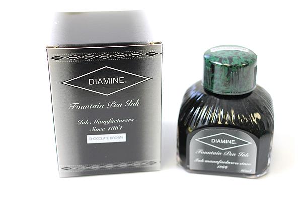 Diamine Fountain Pen Ink - 80 ml - Chocolate Brown - DIAMINE INK 7057