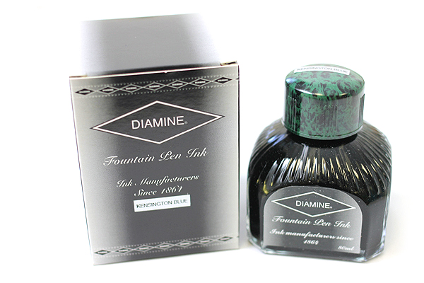 Diamine Fountain Pen Ink - 80 ml - Kensington Blue - DIAMINE INK 7058