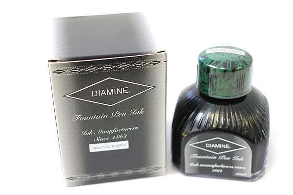 Diamine Fountain Pen Ink - 80 ml - Majestic Purple - DIAMINE INK 7065