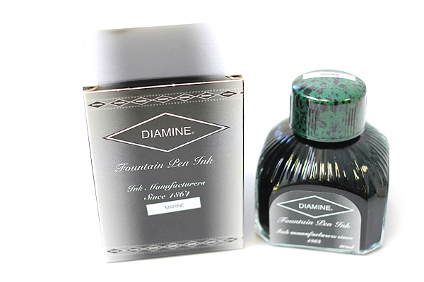 Diamine Fountain Pen Ink - 80 ml - Marine - DIAMINE INK 7066