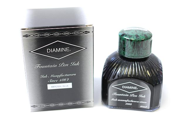 Diamine Fountain Pen Ink - 80 ml - Imperial Blue - DIAMINE INK 7068