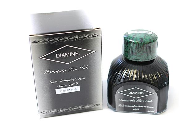 Diamine Fountain Pen Ink - 80 ml - Florida Blue - DIAMINE INK 7069
