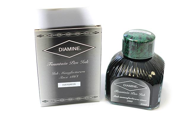 Diamine Fountain Pen Ink - 80 ml - Evergreen - DIAMINE INK 7072