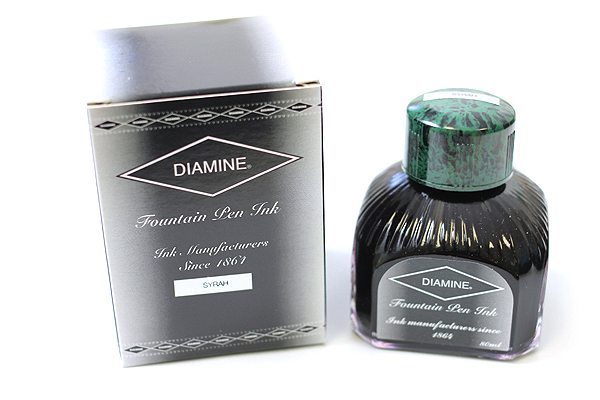 Diamine Fountain Pen Ink - 80 ml - Syrah (Burgundy) - DIAMINE INK 7076