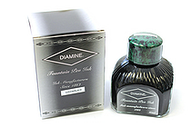 Diamine Green/Black Ink - 80 ml Bottle - DIAMINE INK 7080