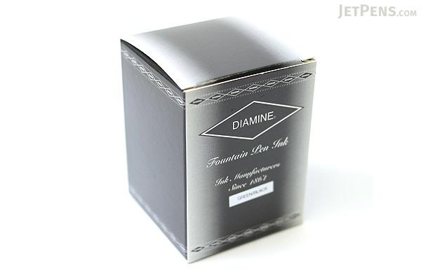 Diamine Green/Black Ink - 80 ml Bottle - DIAMINE INK 7080