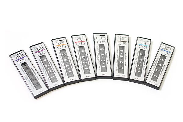 Uni Hi-Uni Hi-Density Pencil Lead - 0.5 mm - B - UNI HU05300B