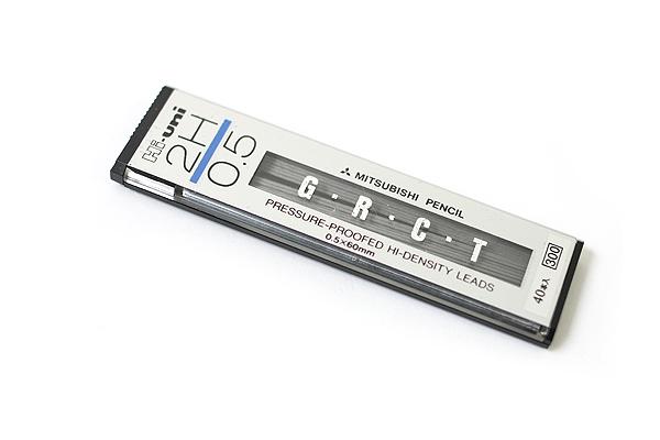 Uni Hi-Uni Hi-Density Pencil Lead - 0.5 mm - 2H - UNI HU053002H