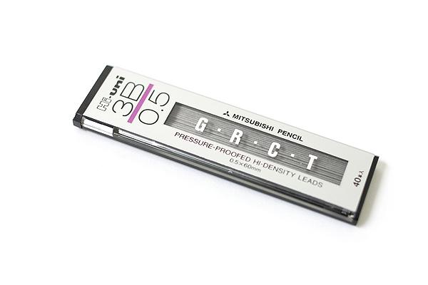 Uni Hi-Uni Hi-Density Pencil Lead - 0.5 mm - 3B - UNI HU053003B