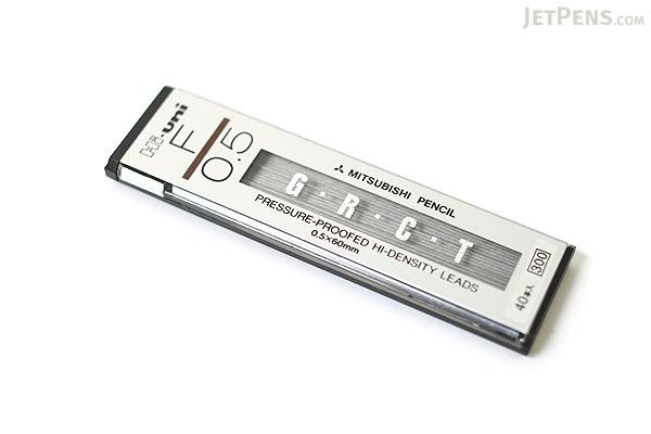 Uni Hi-Uni Hi-Density Pencil Lead - 0.5 mm - F - UNI HU05300F