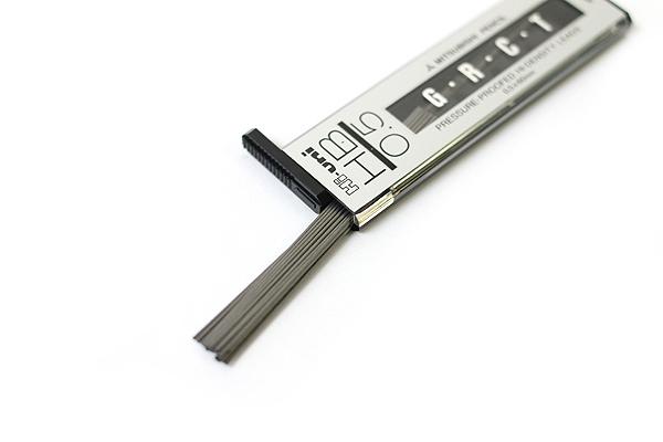 Uni Hi-Uni Hi-Density Pencil Lead - 0.5 mm - HB - UNI HU05300HB