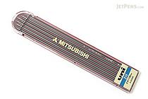 Uni Mitsubishi Lead Holder Refill - 2 mm - 2H - Pack of 6 - UNI ULN2H