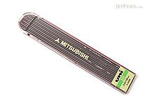 Uni Mitsubishi Lead Holder Refill - 2 mm - 3H - Pack of 6 - UNI ULN3H
