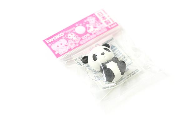 Iwako Zoo Novelty Eraser - Panda - IWAKO ER-DOU002-PANDA