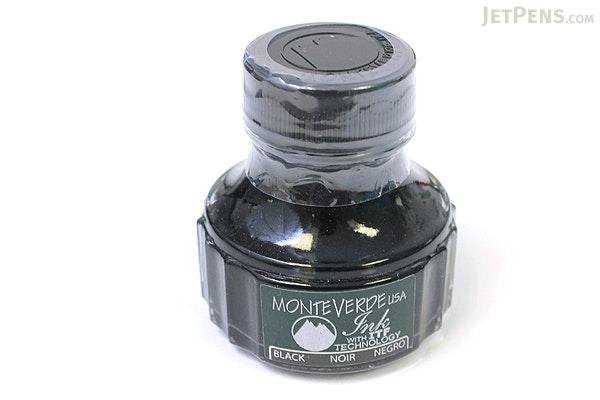 Monteverde Black Ink - 90 ml Bottle - MONTEVERDE G308BK