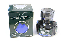 Monteverde Blue Ink - 90 ml Bottle - MONTEVERDE G308BU