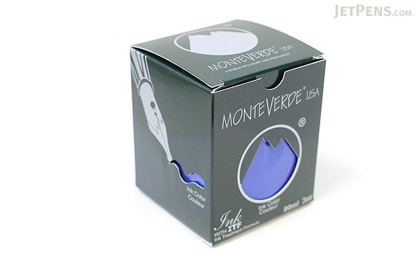 Monteverde Blue Ink - 90 ml Bottle - MONTEVERDE G308BU