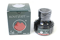 Monteverde Fountain Pen Ink with Ink Treatment Formula - 90 ml Bottle - Burgundy - MONTEVERDE G308BG