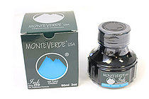 Monteverde Fountain Pen Ink with Ink Treatment Formula - 90 ml Bottle - Turquoise - MONTEVERDE G308TQ