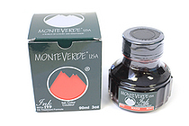 Monteverde Fountain Pen Ink with Ink Treatment Formula - 90 ml Bottle - Red - MONTEVERDE G308RD