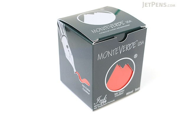 Monteverde Red Ink - 90 ml Bottle - MONTEVERDE G308RD