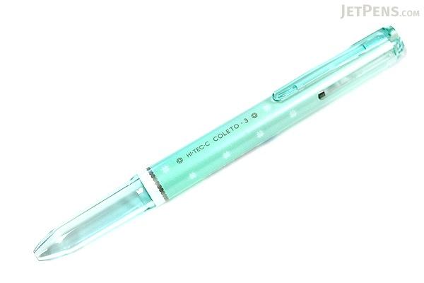 Pilot Hi-Tec-C Coleto Sweet 3 Color Gel Ink Multi Pen Body Component - Mint Green - PILOT LHKCW15C-MG