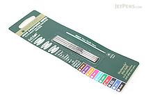 Monteverde Soft Roll Ballpoint Pen Refill - D1 - 0.7 mm - Red - Pack of 4 - MONTEVERDE D132RD