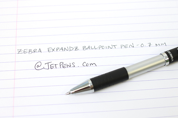 Zebra Expandz Ballpoint Pen - 0.7 mm - Black Body - Black Ink - ZEBRA 24510
