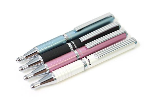 Zebra Expandz Ballpoint Pen - 0.7 mm - White Body - Black Ink - ZEBRA 24500