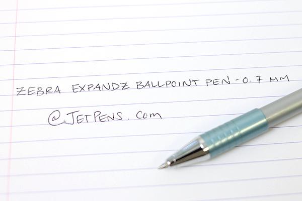 Zebra Expandz Ballpoint Pen - 0.7 mm - Blue Body - Black Ink - ZEBRA 24560