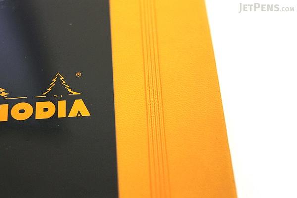 "Rhodia Webnotebook - 5.5"" X 8.25"" - 96 Sheets - 5 mm Dot Grid - Orange - Bundle of 2 - RHODIA 118768 BUNDLE"