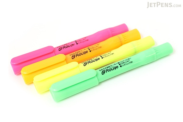 Ohto Rouge Gel Highlighter Pen - Yellow - OHTO M-150R -KY