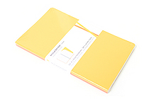 "Moleskine Volant Notebook - Ruled - Large (5"" x 8.25"") - Set of 2 - Orange Yellow & Cadmium Orange - MOLESKINE 978-88-6293-788-7"