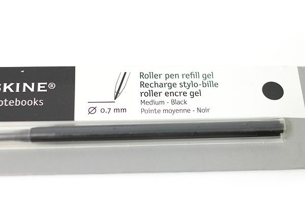 Moleskine Roller Pen Gel Refill - 0.7 mm - Black - MOLESKINE 978-88-6293-869-3