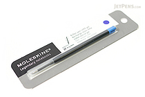 Moleskine Roller Pen Gel Refill - 0.5 mm - Brilliant Blue - MOLESKINE 978-88-6293-872-3