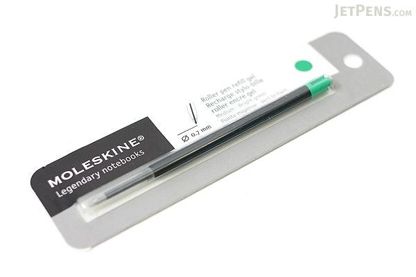 Moleskine Roller Pen Gel Refill - 0.7 mm - Bright Green - MOLESKINE 978-88-6293-874-7