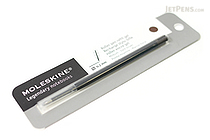Moleskine Roller Pen Gel Refill - 0.7 mm - Dark Brown - MOLESKINE 978-88-6293-876-1