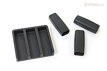 Moleskine Writing Accessories Set - 3 Slip-on Grips + Clip-on Pen Holder - MOLESKINE 978-88-6613-968-3