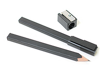 Moleskine Pencil Set - 2 Pencils + Cap + Sharpener - MOLESKINE 978-88-6613-969-0
