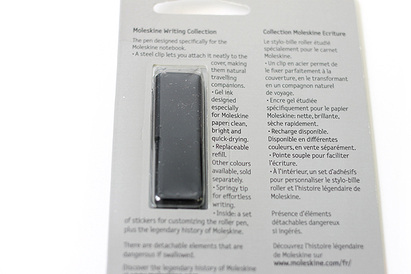 Moleskine Classic Roller Pen - 0.7 mm - Matte Black Body - Black Gel Ink - MOLESKINE 978-88-6613-972-0